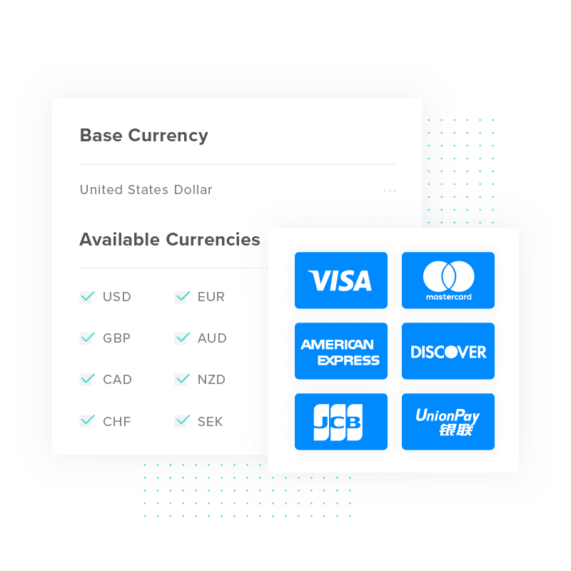 An Illustration of the Payment Method Setup in the FastSpring Platform